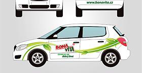 Bonavita - polep vozu