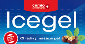 Cemio Icegel - obal