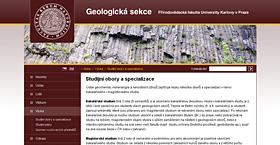 Geologická sekce PřF UK