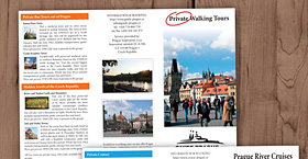 Guide Prague - leták