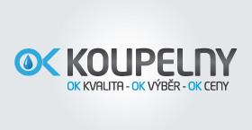 OK koupelny logo